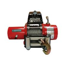 Spil 4309Kg Thor Winch T-SD9500 12V short drum med wire: Ø9,2mm x 14m, SMAL model