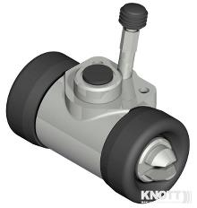 Hjulcylinder Knott Ø19,05mm type 20-2711/25-4300/ 25-4303/25-4303ABS 200x50/250x40mm bremsevæske